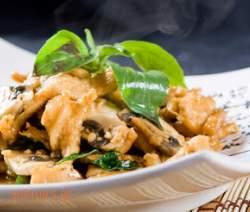 Φιλέτα κοτόπουλου με μουστάρδα και κάπαρη συνταγές μαγειρικής & ζαχαροπλαστικής