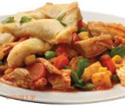 Κοτόπουλο ψητό με βερμούτ - www.sidages.gr