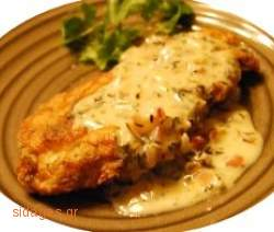 Κοτόπουλο με παρμεζάνα - www.sidages.gr