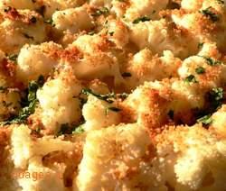 Κουνουπίδι ογκρατέν - cauliflower au gratin - συνταγές μαγειρικής