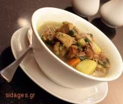 Κρεατόσουπα με λαχανικά - συνταγές μαγειρικής & ζαχαροπλαστικής