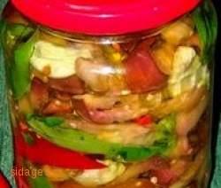 Μελιτζανες τουρσί - συνταγες για τουρσί - λαχανικά