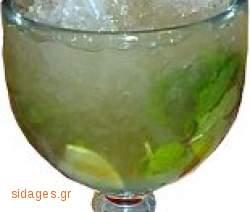 Κοκτέιλ Μοχίτο - Mojito frozen - www.sidages.gr