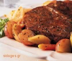 Μοσχάρι λεμονάτο - www.sidages.gr