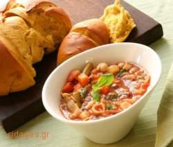 Ντοματόσουπα με κριθαράκι - συνταγές μαγερικής - www.sidages.gr