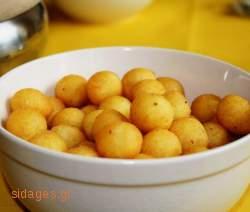 Πατάτες στο φούρνο με κρόκο Κοζάνης - συνταγές μαγειρικής