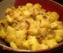 Πατατοσαλάτα με μπλε τυρί - www.sidages.gr