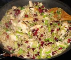 Ρύζι με πράσο και δαμάσκηνα - συνταγές για ρύζι