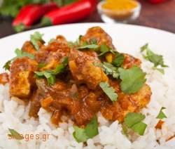 Κοτόπουλο κάρρυ Τασίας - www.sidages.gr