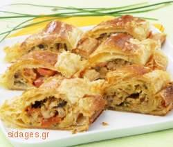 Κοτόπιτα με κάστανο - www.sidages.gr
