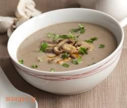 Σούπα με μανιτάρια -  συνταγές μαγερικής & ζαχαροπλαστικής