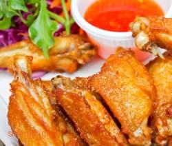 Κοτόπουλο πανέ φούρνου - www.sidages.gr