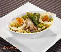 Φαρφάλε με αγκινάρες - συνταγές μαγειρικής & ζαχαροπλαστικής