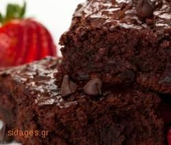 Brownies με μαύρη σοκολάτα - συνταγές ζαχαροπλαστικής - σοκολάτα - γλυκά