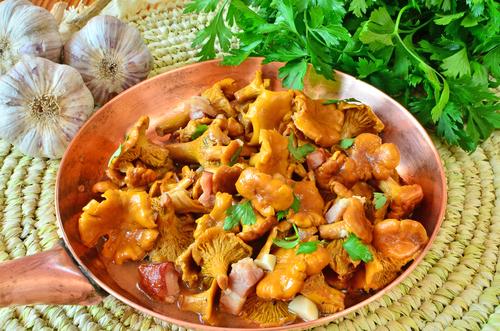 Блюда с лисичками рецепты
