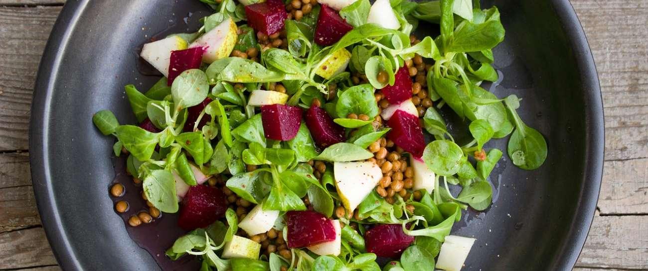 Συνταγές για σαλάτες, λαχανικά