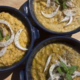 Φάβα Σαντορίνης - συνταγές μαγειρικής -ορεκτικά