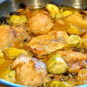 Αγκινάρες με κοτόπουλο - συνταγές μαγειρικής - κοτόπουλο