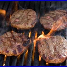 Μπιφτέκια σχάρας - συνταγές μαγειρικής - σχάρα