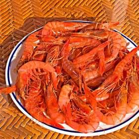 Γαρίδες τηγανητές - συνταγές μαγειρικής - θαλασσινά