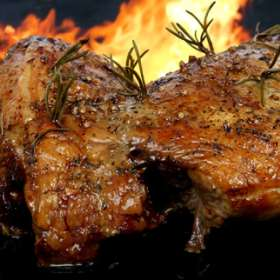 Κατσικάκι με μακαρόνια - συνταγές μαγειρικής - Πάσχα - κρέατα