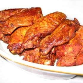 Καυτερές φτερούγες κοτόπουλου - συνταγές μαγειρικής