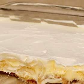 Κέικ μπανάνα σπλιτ