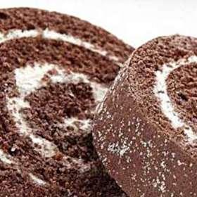 Κορμός σοκολάτα με παγωτό