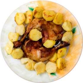 Κοτόπουλο λεμονάτο - συνταγές μαγειρικής