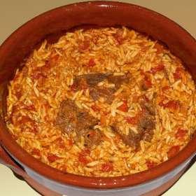 Μοσχάρι με κριθαράκι στο φούρνο - συνταγές μαγειρικής