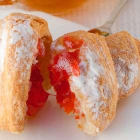 Κρουασάν μαρμελάδα - Croissant συνταγές ζαχαροπλαστικής- www.sidages.gr