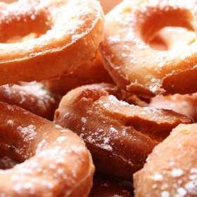 Ντόνατς με κολοκύθα - μπουκίτσες