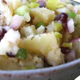 Πατατοσαλάτα νηστίσιμη - συνταγές μαγειρικής - νηστεία - πάσχα