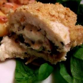 Ρολάκια κοτόπουλο γεμιστά με μετσοβόνε - συνταγές μαγειρικής & ζαχαροπλαστικής