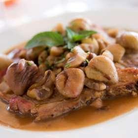 Χοιρινό με κάστανο - www.sidages.gr