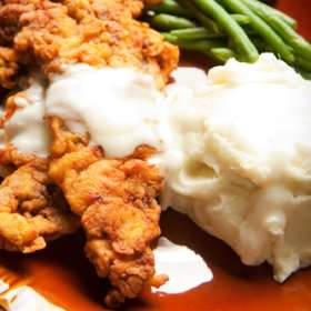 Κοτόπουλο με τυρί και πουρέ στο φούρνο - συνταγές μαγειρικής & ζαχαροπλαστικής