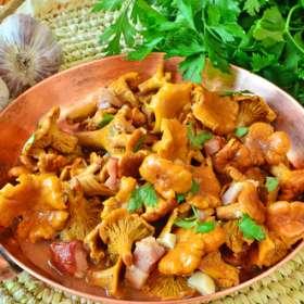 Μανιτάρια στιφάδο με κάστανο - www.sidages.gr