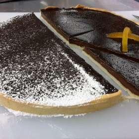 Τάρτα Brownie - σοκολάτα