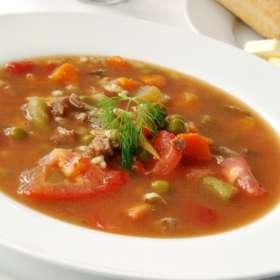 Τραχανάς σούπα με ζωμό κρέατος - συνταγές μαγερικής - www.sidages.gr
