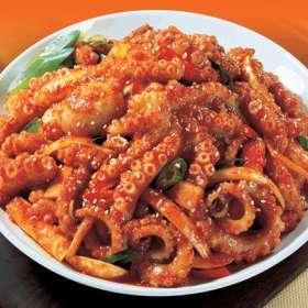 Χταποδάκια κοκινιστά - συνταγές μαγειρικής & ζαχαροπλαστικής