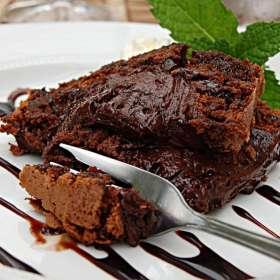 κέικ σοκολάτας Υγρό