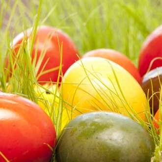 πασχαλινά αυγά βαμένα - Πασχαλινές συνταγές