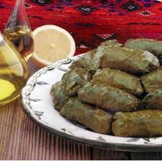Ντολμαδάκια γιαλατζή με αμπελόφυλλα - www.sidages.gr