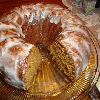 Κέικ γλυκιάς κολοκύθας