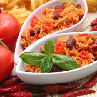 Μεξικάνικο ρύζι - συνταγές μαγερικής - ρύζι
