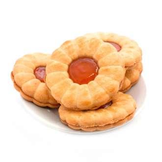 Μπισκότα με μαρμελάδα συνταγές μαγειρικής & ζαχαροπλαστικής- www.sidages.gr
