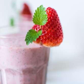 Smoothie φράουλα
