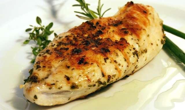 Φιλέτο κοτόπουλο με σως μουστάρδας