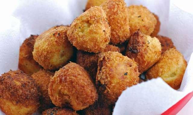 Κροκέτες πατάτας με μανιτάρια