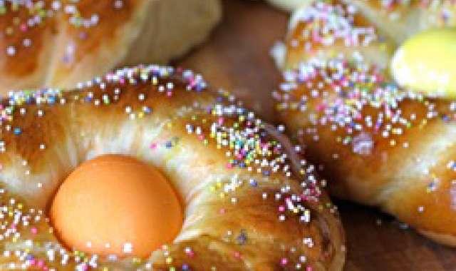 Κουλούρα λαμπριάτικη Πασχαλινή - Easter bread - συνταγές μαγειρικής